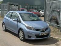 2012 Toyota Yaris 1.0 VVT-i TR, MOT 01/07/22,£30 Road Tax. HATCHBACK Petrol Manu