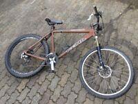 Kona Hoss Dee-Lux mtb £1000 new 22 inch frame Hardtail mountain bike