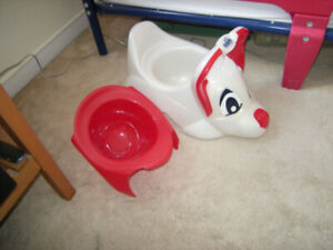 Potty for the little one. Never used.