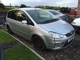 2010 Ford C Max 2.0 TDCI Breaking for parts.