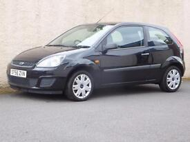 FORD FIESTA 1.25 STYLE CLIMATE 3 DOOR 2006 56 reg ONLY 50837 MILES FSH