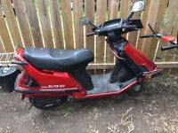 1985 HONDA ELITE 150cc gas scooter