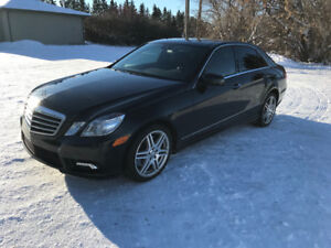 2010 Mercedes Benz E550 4Matic
