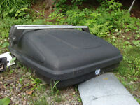 roof rack and cargo box