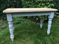 Painted pine farmhouse table