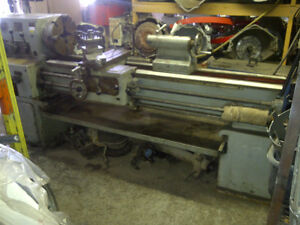 "AFM large Metal Lathe 13"" swng, 7' gap bed $4500.00 OBO"