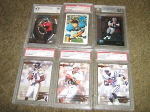 Graded Sport Cards and 2 Ungraded