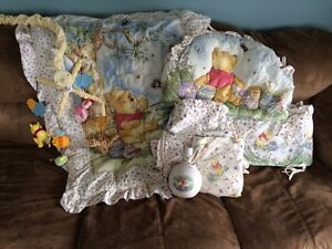Winnie the pooh baby room set please call or text 705-347-4805