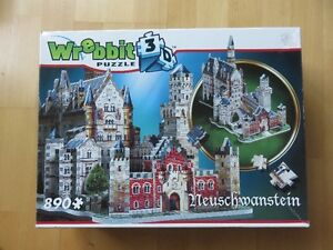Neuschwanstein Castle 3D Puzzle by Wrebbit