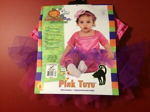 Pumpkin Junction Infant Girl Pink Tutu Costume - Size 6-9M - NEW