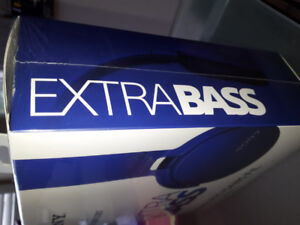 Brand New Sony Extra Bass blue headset - MDR-XB650BT