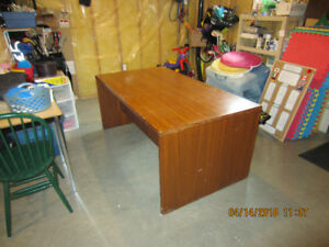 Executive Solid Wood Desk - FREE