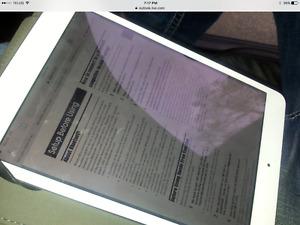 Looking to trade my flawless white iPad 2 mini 16 gig