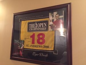 PGA MAJOR CHAMPIONSHIP GOLF FLAGS WILL WITH COAs GREAT PRICES