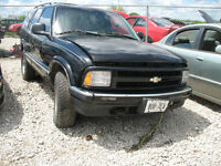LAST CHANCE 1997 CHEV BLAZER FOR PARTS @ PICNSAVE WOODSTOCK