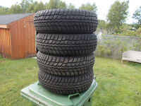 p175/65/14 inch winter tires / NEAR NEW / GOOD DEAL