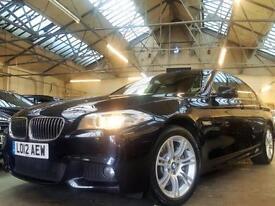 2012 BMW 5 Series 2.0 525d M Sport 4dr