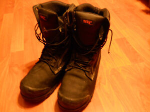 STC Steel Toe Boots Size 8