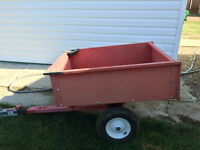 Metal Quad or Lawn Mower Trailer