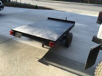 """4 foot by 7 foot 9"""" utility trailer"""