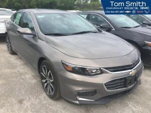 2017 Chevrolet Malibu LT  - Leather Seats - Navigation