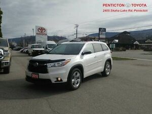2015 Toyota Highlander Limited   - Low Mileage