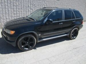 Rare 2001 BMW X5 manual 5 speed ,only few on the roads