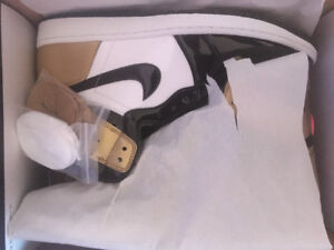 "DS Air Jordan 1 ""Gold Toe"" Size 13"