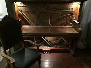 Antique Piano Desk Oakville / Halton Region Toronto (GTA) image 6