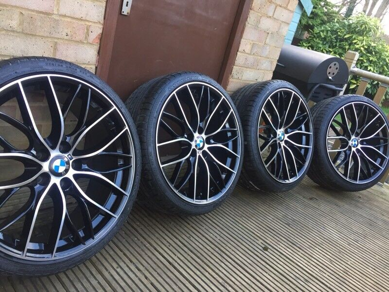 4x Bmw 3 4 5 Series 20 405 M Performance Style Alloy