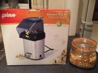 Popcorn maker and seeds