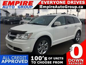 2010 DODGE JOURNEY R/T * AWD * LEATHER * 7 PASSENGER
