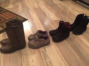 Girls Size 10/11 Shoe Lot