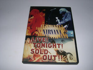 Nirvana - Live! Tonight! Sold Out! - DVD (1994)