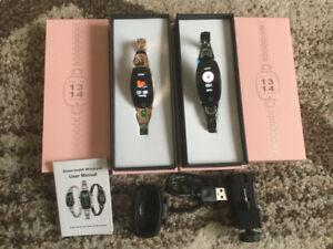 New Smart Watch Women WristBracelet Bluetooth Activity Fitness T