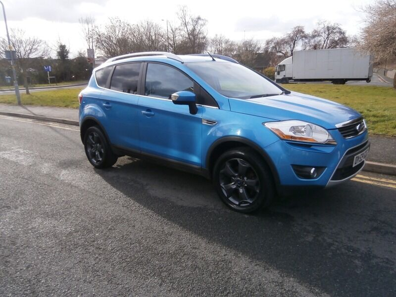 ford kuga 2 0 tdci titanium awd blue 2009 in droitwich. Black Bedroom Furniture Sets. Home Design Ideas