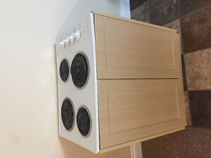 Stovetop with cabinet