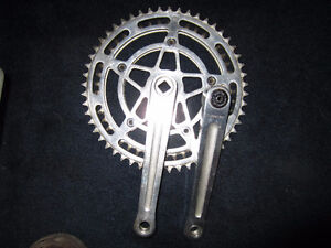 French Stronglight Chainset
