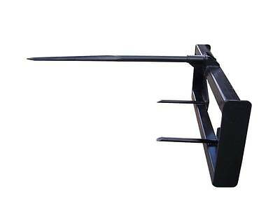 "NEW 49"" Hay Bale Spear attachment / Skid Steer /loader/Bobcat / KUBOTA /etc"