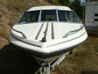 1990 Malibu 16 ft. 75H.P. Merc Motor on 1991 Ez-load Trailer