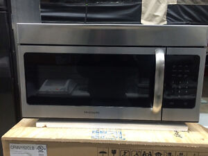 "Frigidaire Stainless  30"" Over The Range Microwave"