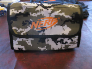 Nerf N Strike Ammo Bag Kit - white with camouflage