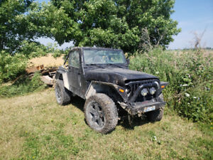 Parting out a 2002 Jeep TJ
