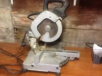 ELU sliding mitre chop saw