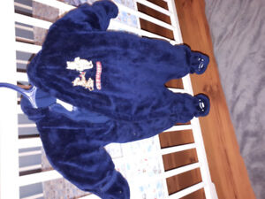 Infantastic snowsuit with Winnie the Pooh