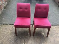 1 small Chair Dining House Restaurant Pub club Pub 52 Available Job Lot Bulk Retro