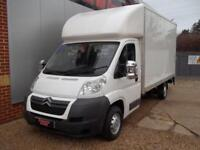 £ 54 A WEEK - 2011 61 REG 2.2 CITROEN RELAY LWB LUTON / BOX VAN 120HP TAIL LIFT