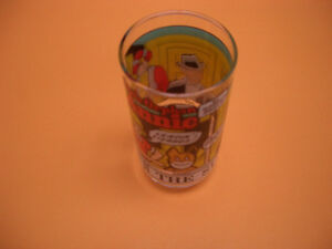 COLLECTIBLE GLASSES FOR SALE MUPPETS, FANTASIA, WWF, ANNIE London Ontario image 6