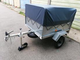 Erde 122 trailer with extras