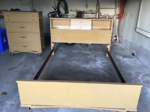 Full Bedframe and Chest For Sale